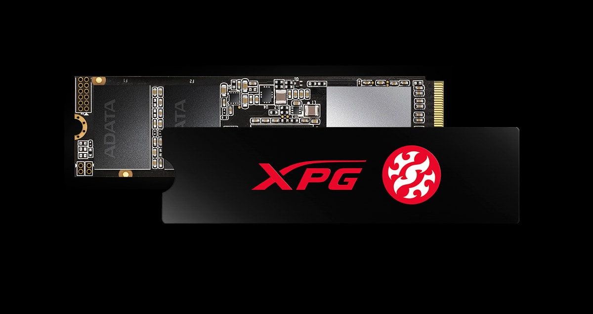 ovdn اس اس دی اینترنال ایکس پی جی مدل SX6000 Lite PCIe Gen3x4 M.2 2280 ظرفیت 256 گیگابایت