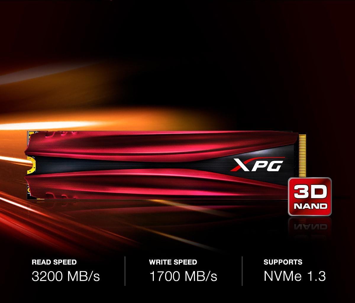 مشخصات و قیمت خرید اس اس دی اینترنال ایکس پی جی مدل GAMMIX S11 PCIe Gen3x4 M.2 2280 ظرفیت 1 ترابایت