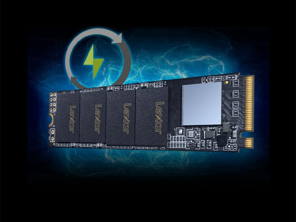 خرید اس اس دی اینترنال لکسار مدل NM610 M.2 2280 ظرفیت 250 گیگابایت