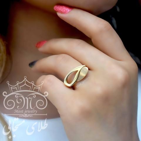 انگشتر طلای رادین