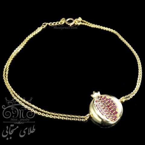 دستبند طلای انار