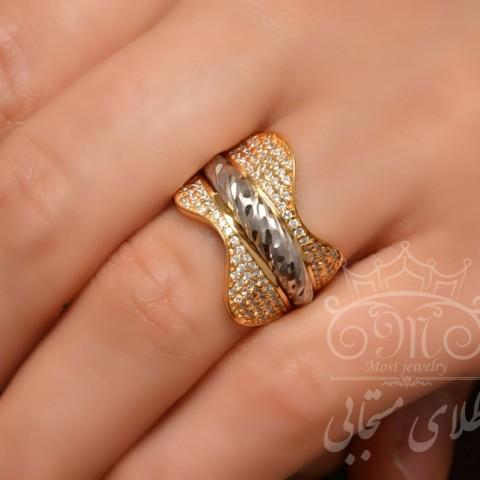 انگشتر طلای الگانت ماکت