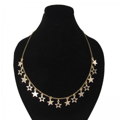 گردنبند طلای پولکی ستاره