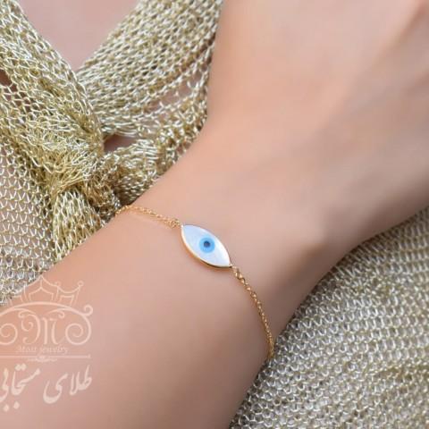 دستبند طلای چشم و نظر