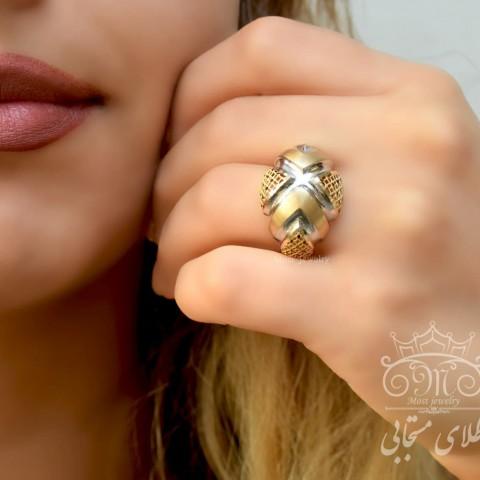 انگشتر طلای آوا