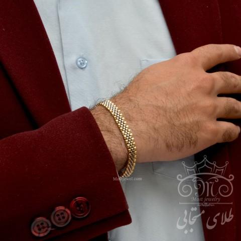 دستبند طلای رولکس