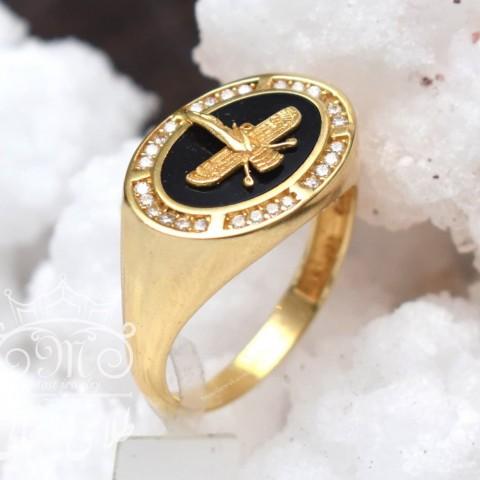 انگشتر طلا مردانه فروهر