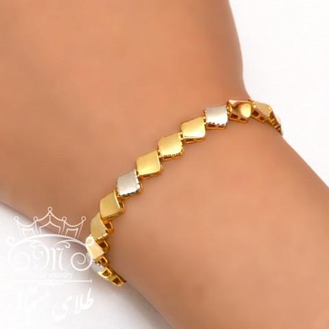 دستبند طلای آوا یاس