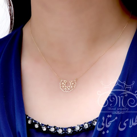 گردنبند طلای اسلیمی