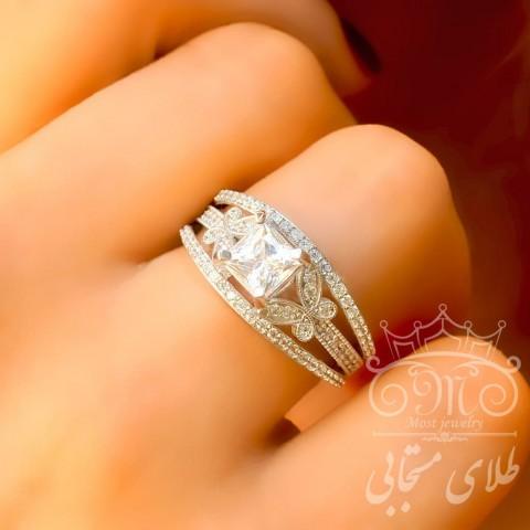 انگشتر طلای سولیتر اسپرلوس