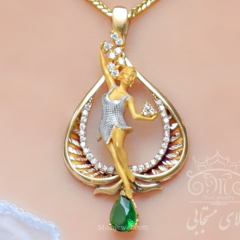 مدال طلای فرشته مهرا