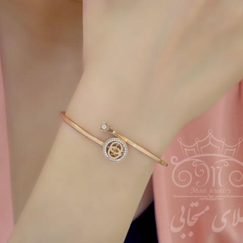 دستبند طلای رزگلد شانل