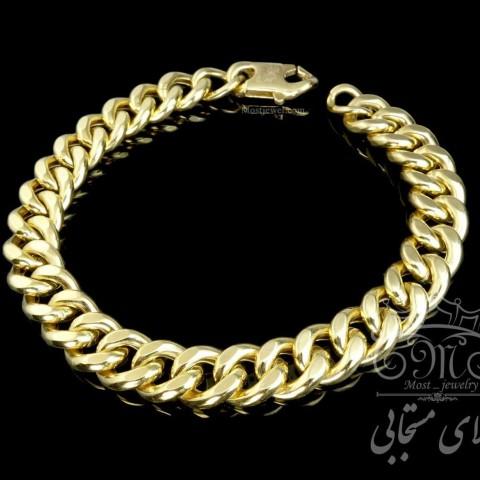 دستبند طلای کارتیر گلستانه