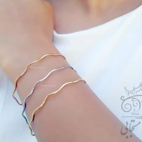 دستبند طلای تیفانی