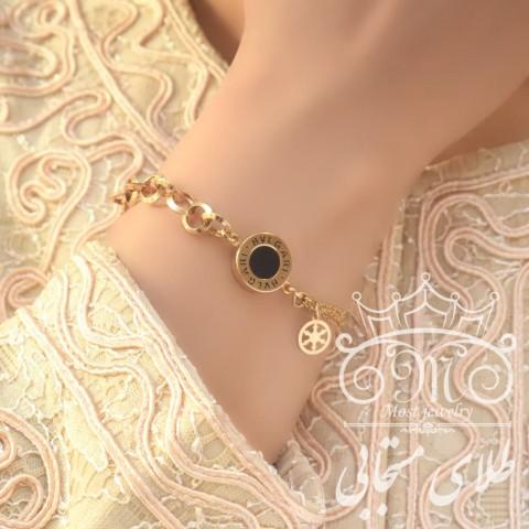 دستبند طلای بولگاری