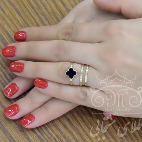 انگشتر طلای ونکلیف