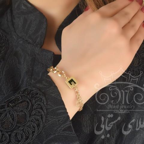 دستبند طلای گوچی