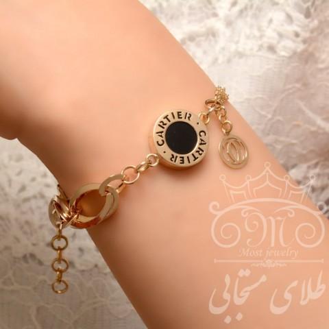 دستبند طلای کارتیر لیانا