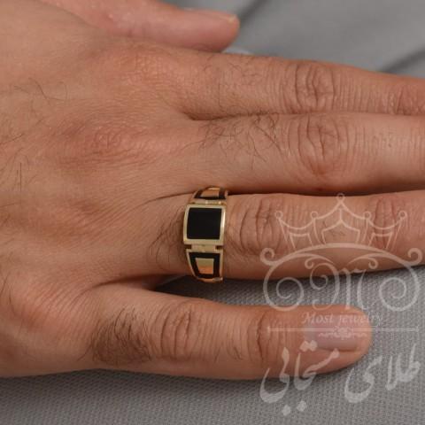انگشتر طلای مردانه اسپرلوس