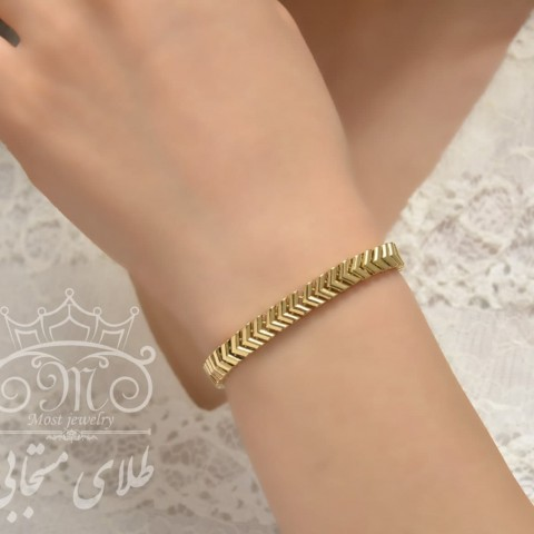 دستبند طلای جلوا
