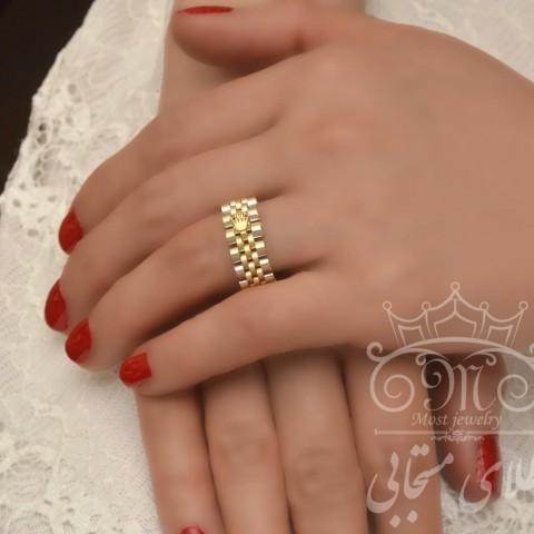 انگشتر طلای رولکس