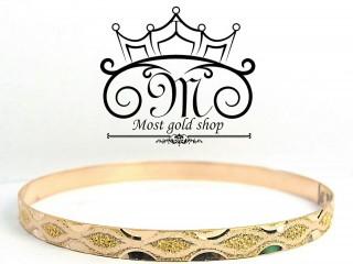 النگوی حکاکی شده طلای 18 عیار