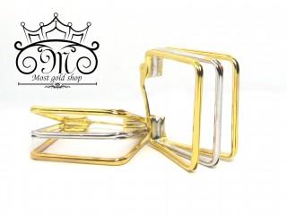 گوشواره طلای سفید و زرد