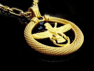 مدال فروهر طلا