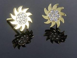گلگوش طلا طرح خورشیدی