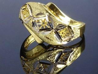 انگشتر فیوژن طلا