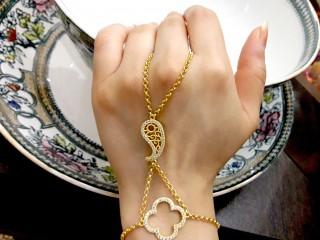 دستبند انگشتری طلا (تمیمه)