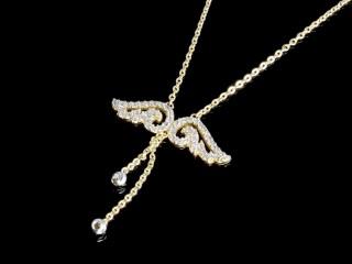 گردنبند طلای انجل