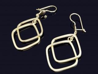گوشواره طلای اسپارتا