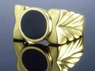 انگشتر طلای مردانه