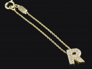 آویز ساعت طلا حرف R