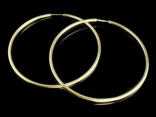 گوشواره النگویی طلا