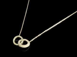 گردنبند طلا طرح حلقه