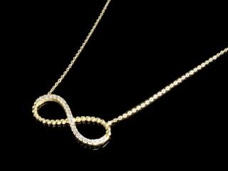 گردنبند طلای بی نهایت
