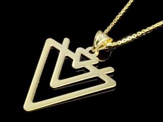 پلاک مثلثی
