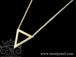 گردنبند طلا مثلثی