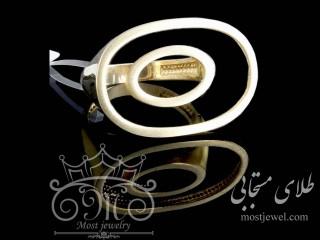 انگشتر طلای تیفانی