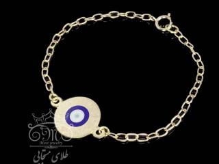 دستبند طلای کودک چشم و نظر