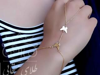 تمیمه طلای پروانه