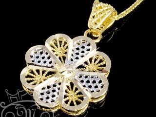 پلاک فیوژن گل طلا