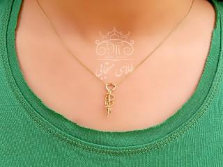 گردنبند قلب و کلید