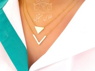 گردنبند مالتی لایر کمان و مثلث