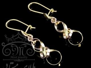 گوشواره فنسی حلقه ای