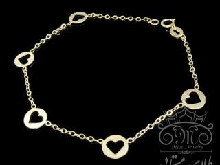 دستبند قلب توخالی