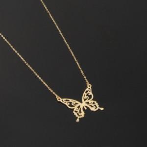 گردنبند طلای پروانه