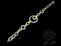 دستبند طلای مدور مونیکا